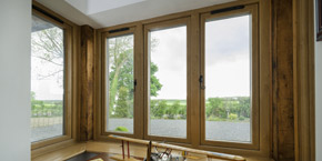 timber effect Residence9 windows
