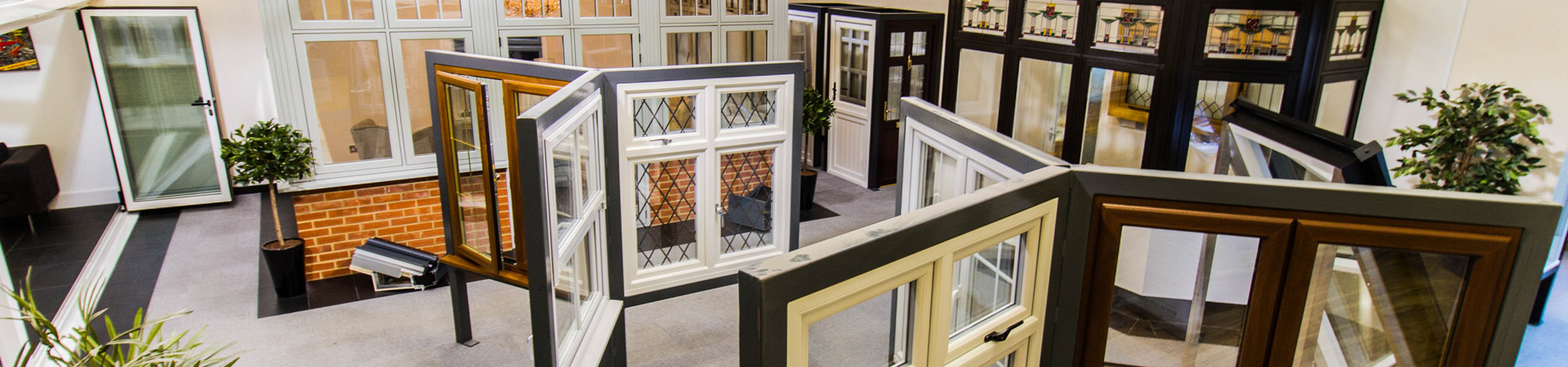 Double glazing showroom in Essex